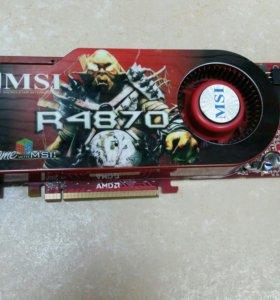 ВИДЕОКАРТА AMD 4870