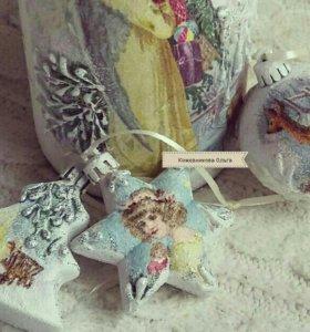 Елочные новогодние игрушки