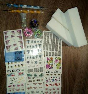 Материал для дизайна ногтей.