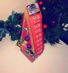 Новогодние подарки, ёлка