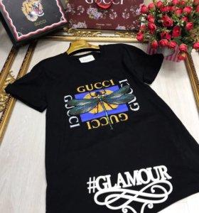 Gucci 💝🌷 S M футболка