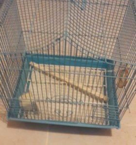 разные клетки для попугаев