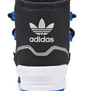Сапожки зимние, adidas оригинал.