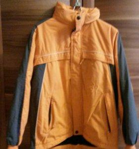 Куртка на мальчика 8-11лет