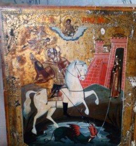 Икона Светой Георгий