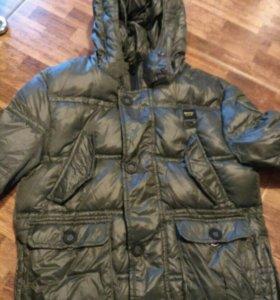 Демисезонная куртка на мальчика 10 лет