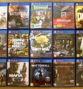 Обмен / Продажа игр для PS4