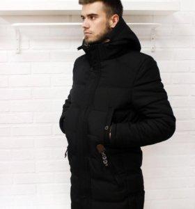 Куртка зимняя удлинённая (магазин)