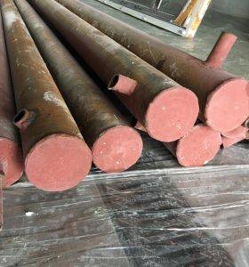 Трубы металлические, диаметр 100 мм.