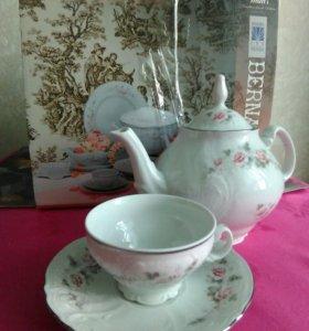 Чайный сервиз Bernadotte из фарфора