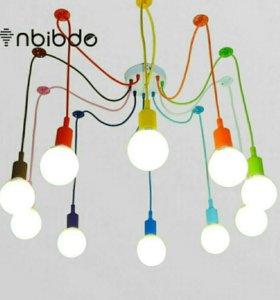 Красочный подвесной светильник люстра