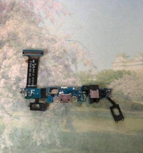 Шлейф с разъемом зарядки для Samsung s6 sm-G920F