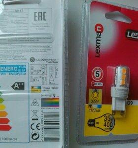 Светодиодные лампочи lexman g 9 , 40 w