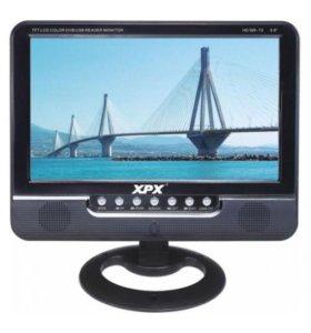 "EA-907D DVB-T2 (9"") Портативный телевизор XPX"