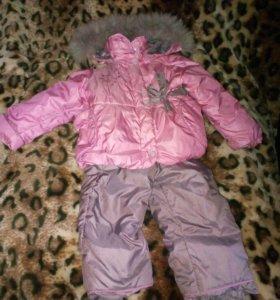 1-2года Куртка и полу комбинезон