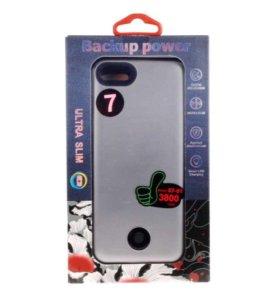 Чехол-аккумулятор на iPhone 7