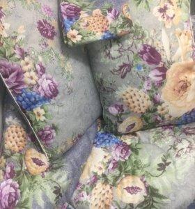 Набор.простынь ,две подушки ,одеялом и матрас(2х)с