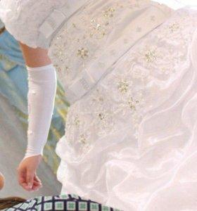 Продам свадебное белое платье