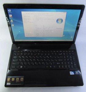 Ноутбук Lenovo G580 iPentium на windows 7