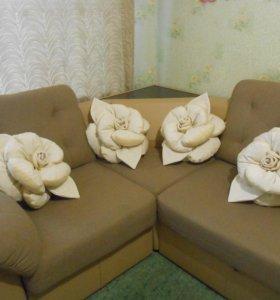 подушки-розы