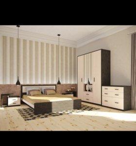 Новая Кровать Ева 900, 1200, 1400, 1600
