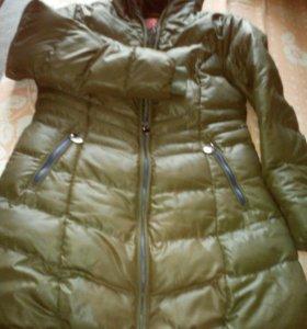 Пальто с мех.подкладом.