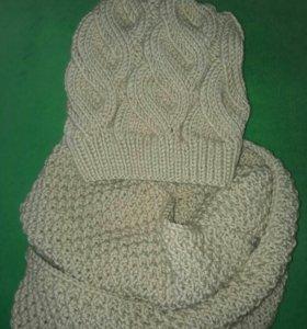 Вязание шапок и снудов