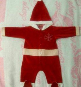 Новогодний костюм Санта-Клауса.