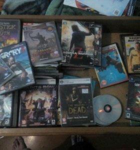 Диски:любые игры и фильмы