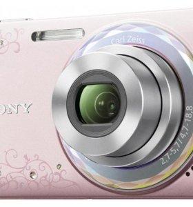 Фотоаппарат Sony cyber-shot dsc-w350d pink