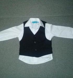 НоваяДвойка (Рубашка+жилетка)