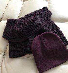 Комплект шапка шарф-труба H&M