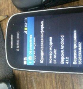 телефон samsung на 2 sim