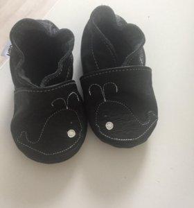 Чешки детские кожаные новые!!!