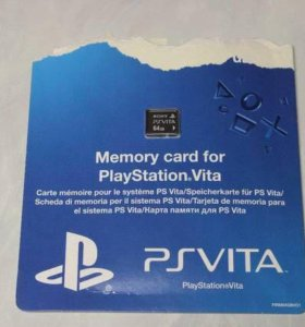 Карта памяти PlayStation Vita (PS Vita) на 64 Гб