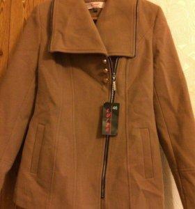 Пальто кашемировое новое