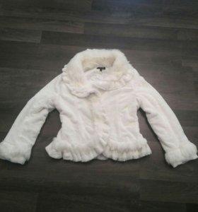 Куртка искусственный мех б.у