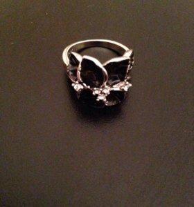 Кольцо кристаллы Swarovski