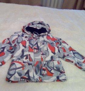 курта для зимы с теплой подстежкой