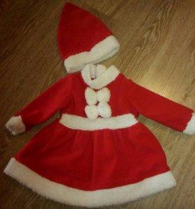 Новогоднее платье,костюм.