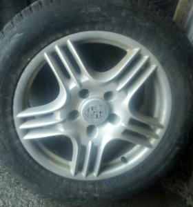 Комплект шин с дисками порше кайен 4 колеса