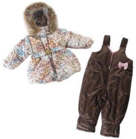 Зимний комплект: куртка и штаны 92