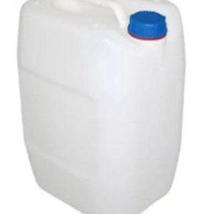 Канистра пищевая из под уксусной кислоты Б/У 30л