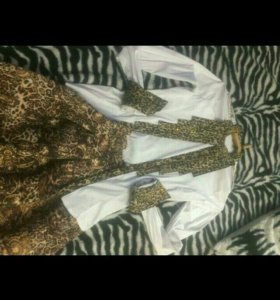 юбка и сорочка с камнем
