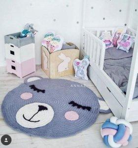 Ковер - мишка в детскую комнату