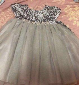 Платье нарядное 2-3г
