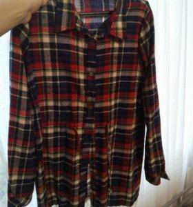Рубашка для беременных I love mom