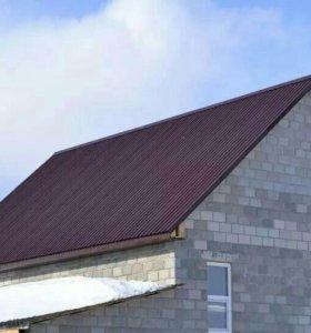 Бани, крыши, пристройки