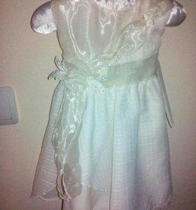 Платье празничное 1-2 года