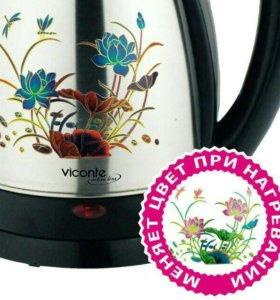 Электрочайник Viconte vc-3257 Black